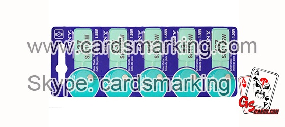 337 Mini Electronic Marked Cards Earpiece Battery