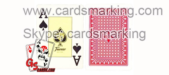 Fournier 818 Barcode Edge Side Marked Cards Decks