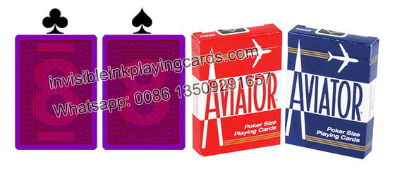 Aviator Jumbo Index Marked Playing Cards