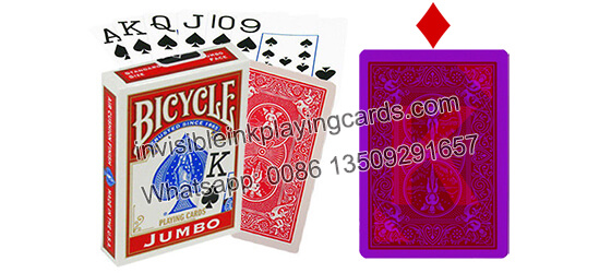 Ultimate marked deck red Bicycle