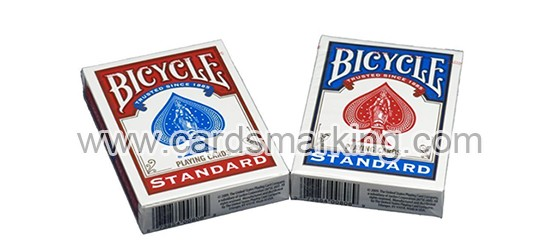 Bicycle Paper Edge Side Marked Cards For Poker Scanner
