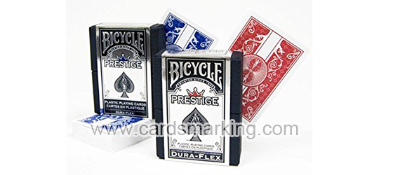 Bicycle Red 100% Plastic Playing Cards