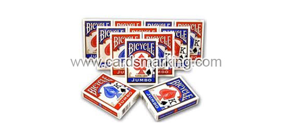 Kunststoff Bicycle Blue Deck Of Poker Karten
