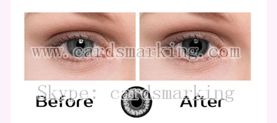 Infrared Contact Lenses For Black Eyes
