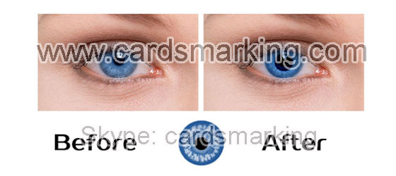 Infrared Blue Eyes Contact Lenses