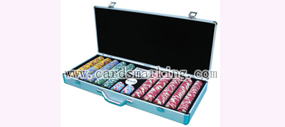 Barcode Marked Decks Chip Box Scanning Camera
