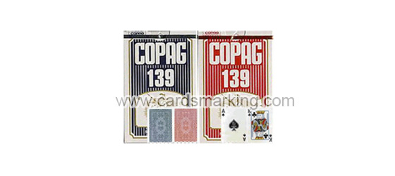 Magic Copag 139 Paper Poker Cards