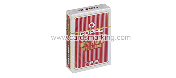 Plastic Copag Jumbo And Regular Face Cards