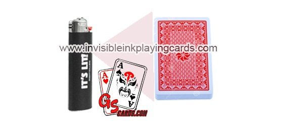 Professional lighter poker scanning lens