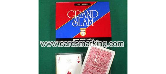Dal Negro Grand Slam Marked Cards