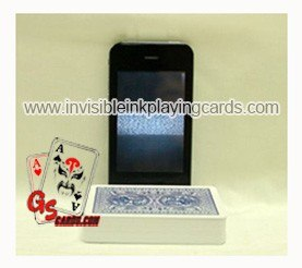 Playing cards scanner