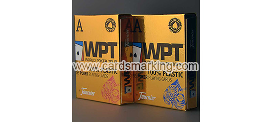 Fournier WPT Poker Cards