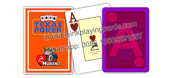 Modiano Texas Holdem Marked Playing Cards