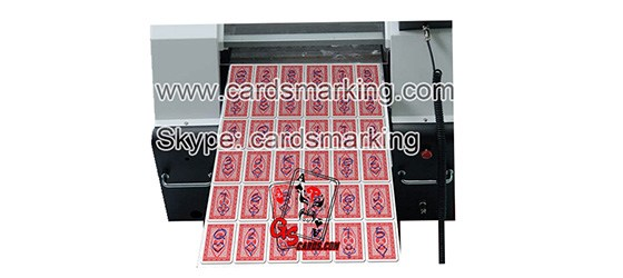 Invisible Ink Marked Playing Cards Printer For Sale