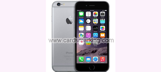 Iphone6 escaner de engano de poquer