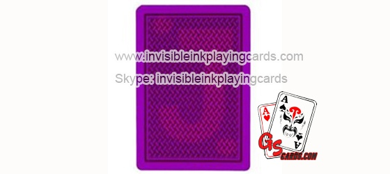 Luminous Invisible Ink Marked Poker Cards