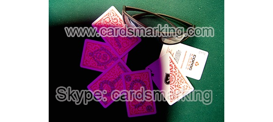Copag 1546 Poker Tamano Regular Index cartas de juego marcadas