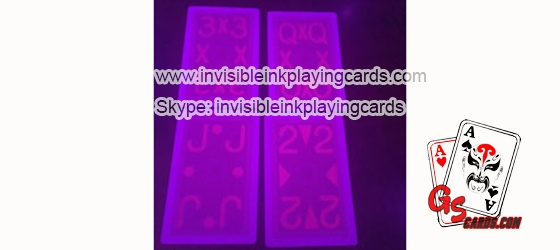 Marking Cards With Invisible Infrared Ink