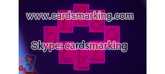 Moadiano marked invisible ink poker cards