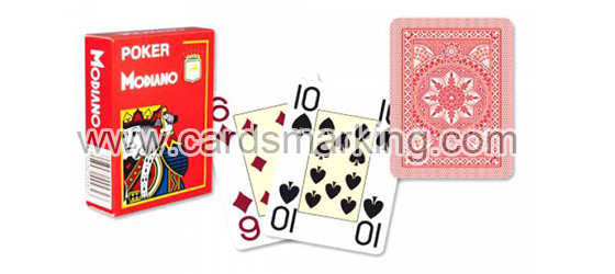 Invisible Ink To Playing Cards Modiano Cristallo
