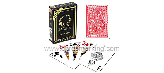 Modiano Da Vinci Marked Playing Cards