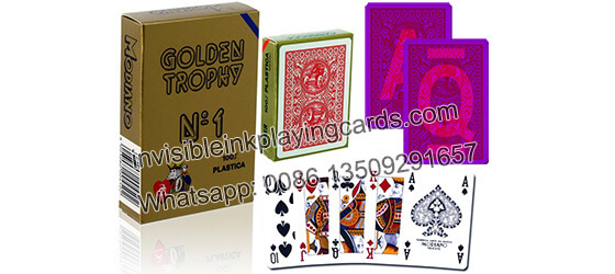 Modiano Golden Trophy cartas marcadas luminosas