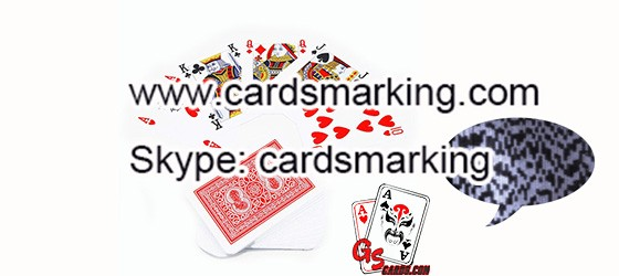 Invisible Ink Edge Side Barcode Playing Cards Marking