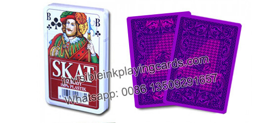 Best Invisible Ink Marked Modiano Skat Cards Decks