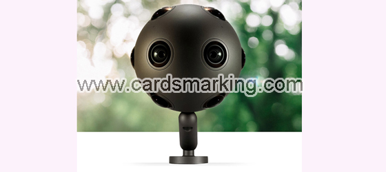 360 Degree Infrared Camera For Infrared Marked Cards