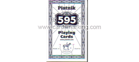 Luminous Marked Piatnik 595 Infrared Ink Cards
