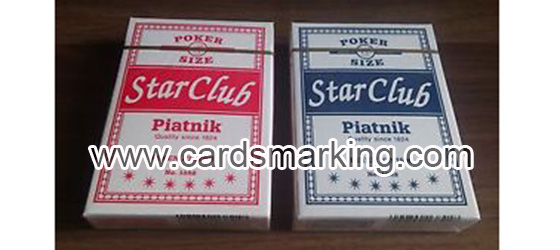 Tricks In Piatnik Club Star Luminous Marked Cards