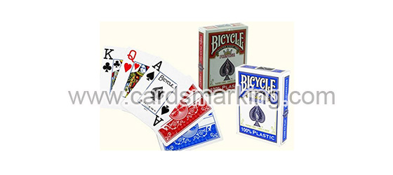 Plastic Bicycle Magic Trick Marked Poker Decks