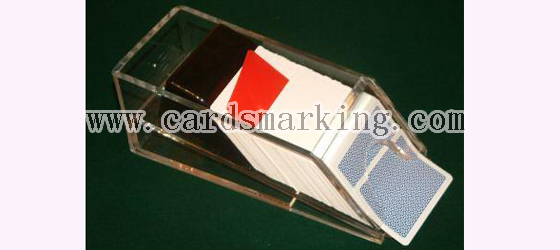 Blackjack Plastic Shoe Poker Winner Camera