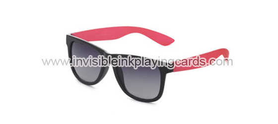 Sunglasses Of Plastic See Through Playing Cards