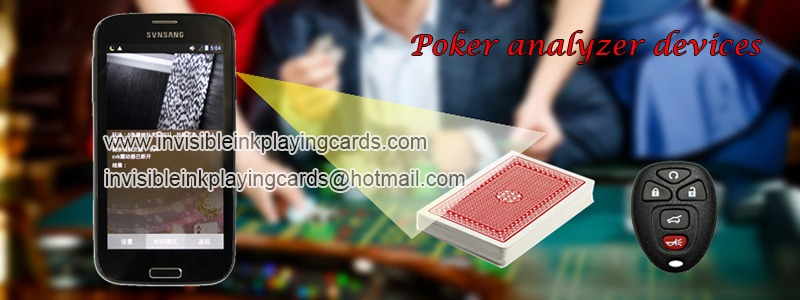 poker analyzer devices