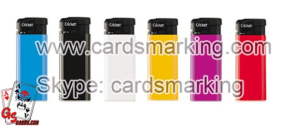 Marked Invisible Ink Poker Cards Lighter Scanning Camera