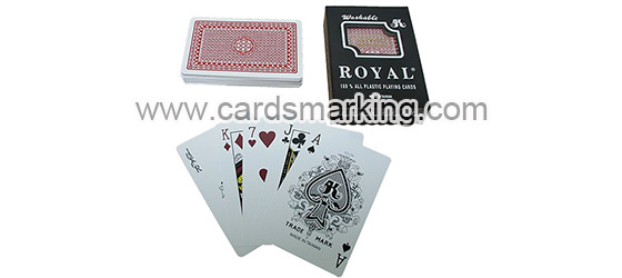Royal Far Infrared Marked Poker Cards