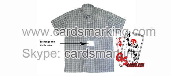 What Is Shirt Chest Playing Cards Exchanger Used For?