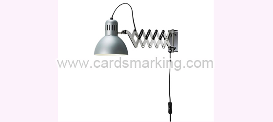 Silver Color Wall Painting Lamp With IR Camera