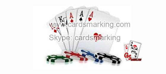 Undetectable Marked Playing Poker Cards For Sale In GS